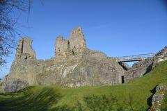 Montgomery Castle - Wales Royaltyfria Foton