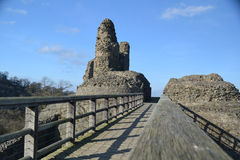 Montgomery Castle - Wales Stock Image