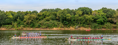 Montgomery Dragon Boat Festival 2015 Photo stock