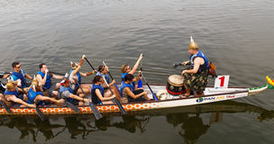 2015 Montgomery Dragon Boat Festival Royalty-vrije Stock Foto