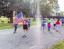 2018 Montgomery Half Marathon en 5k stock foto