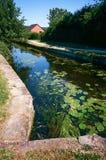 Montgomery kanal i Wales, UK Royaltyfri Foto