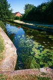 Montgomery-Kanal in Wales, Großbritannien Lizenzfreies Stockfoto