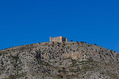 The Montgrí Castle. In Spain stock images