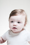 6 Month Old Baby Portrait Royalty Free Stock Photo