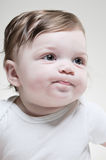 6 Month Old Baby Portrait Royalty Free Stock Photography
