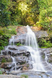 Monthatha Falls. Small waterfall on Doi Suthep mountain .Chiang Mai.Thailand Stock Photos