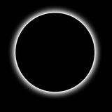 Monthly eclipse Royalty Free Stock Image