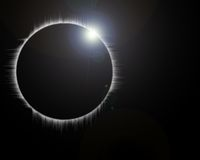 Monthly eclipse Stock Images