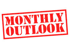 MONTHLY OUTLOOK Royalty Free Stock Image