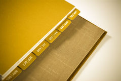 Monthly Planner Series Royalty Free Stock Image