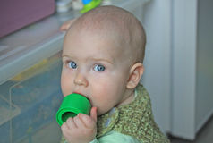 10-months baby royalty free stock photography