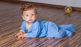 7 months baby boy Royalty Free Stock Photography
