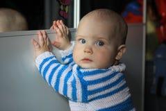 10-months behandla som ett barn Royaltyfri Fotografi