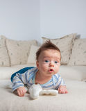3 months old baby boy Royalty Free Stock Photography