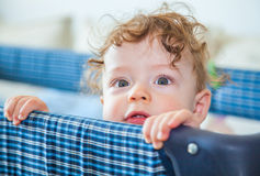 9 months old baby boy Stock Images