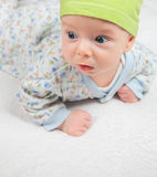 3 months old baby boy Royalty Free Stock Photo