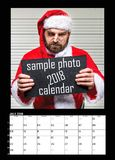 Months of year 2018. Calendar royalty free stock photography