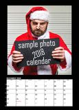 Months of year 2018. Calendar royalty free stock photos