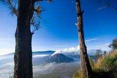 Monti Bromo immagini stock