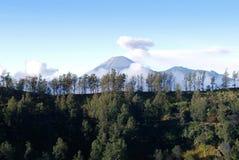 Monti Bromo, un vulcano attivo in East Java, Indonesia Fotografia Stock