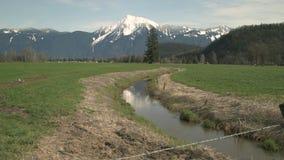 Monti Cheam, Agassiz, BC, zoom 4K UHD stock footage