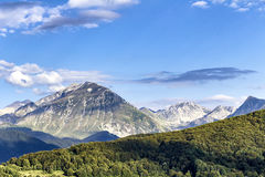 Monti della Laga arkivbild