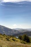Monti della Laga u. x28; Aquila& x29; - Italien Stockbild
