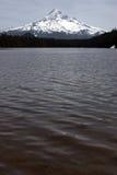Monti il cappuccio dal lago perso Fotografia Stock