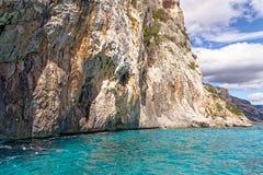 Monti Insani Crazy Mountain - Sardenia - Italy. Monti Insani - Baunei - Sardenia, Italy. Sailing to Crazy Mountain on the east coast of Sardenia. Photo taken on stock images