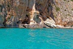 Monti Insani Crazy Mountain - Sardenia - Italy. Monti Insani - Baunei - Sardenia, Italy. Sailing to Crazy Mountain on the east coast of Sardenia. Photo taken on stock photos