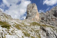 Monti Sommerstein nelle alpi tedesche, Baviera Fotografia Stock