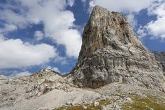 Monti Sommerstein nelle alpi tedesche, Baviera Fotografie Stock Libere da Diritti