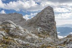 Monti Sommerstein nelle alpi tedesche, Baviera Immagine Stock