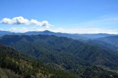 Monti Ulap, il mt Ulap, le catene montuose delle Cordigliera, le catene montuose di Ampucao, Ampucao, Itogon, Benguet, le Filippi Fotografie Stock Libere da Diritti