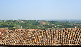 Montiano (Emilia-Romagna), Country landscape Royalty Free Stock Photos