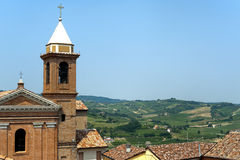 Montiano (Emilia-Romagna, Italy), Old town Royalty Free Stock Photos