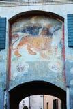 Monticato Gate, in Conegliano Veneto, Treviso Royalty Free Stock Image