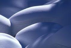 Monticelli della neve fotografie stock libere da diritti