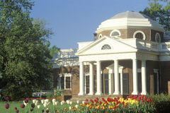 Monticello του Thomas Jefferson's Στοκ Φωτογραφίες