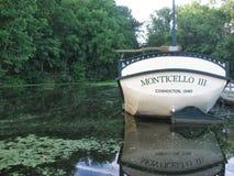 Monticello3 Coshocton Ohio Holownicza ścieżka Zdjęcia Royalty Free