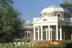 Monticello del Thomas Jefferson Fotografie Stock