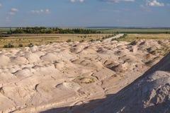 Monticello della sabbia Fotografie Stock