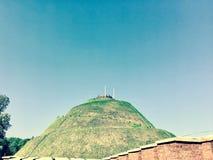 Monticello della talpa della storia Fotografia Stock