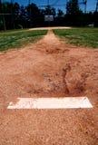 Monticello di brocche sul campo di baseball Fotografia Stock Libera da Diritti