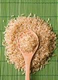 Monticello di riso sbramato Fotografia Stock