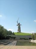 Monticello di sepoltura di Mamaev Immagini Stock