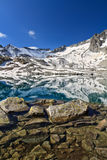 Monticello Lake - Tonale pass Royalty Free Stock Image