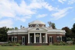 Monticello rear Stock Photography