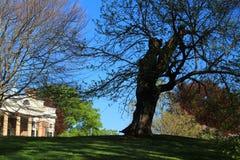 Monticello - Virginia Royalty-vrije Stock Afbeeldingen